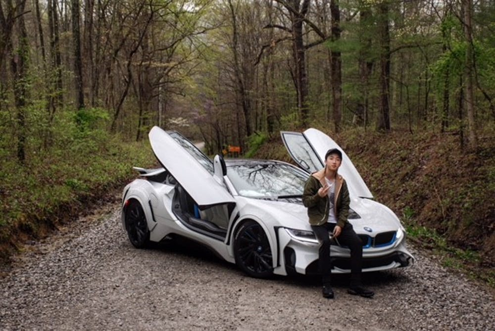 <p>IU sophomore Longjie Lin drives a BMW i8 and has done modifications to it. </p>