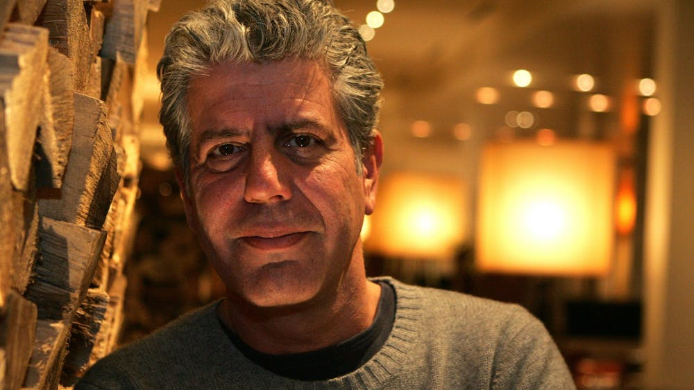 """Anthony Bourdain in Detroit in January 2009. """"Roadrunner: A Film About Anthony Bourdain"""" was released on July 16."""