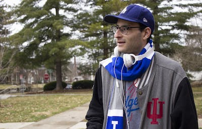 "Senior Abe Shapiro was diagnosed with Asperger's syndrome around first grade. Now, Abe is about to graduate with a bachelor's degree from IU. ""The main thing is to not let it define you,"" he said. ""At the end of the day, we're all human."""