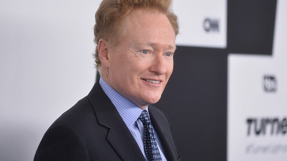 Conan O'Brien is photographed May 17, 2017, at the Turner Upfront Presentation in New York. O'Brien is ending his late-night talk show on TBS next year to launch a new weekly series on HBO Max.