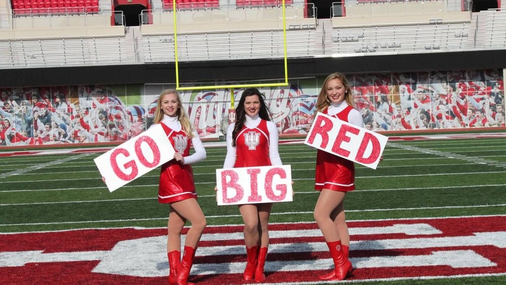 The RedStepper Dance Team will have its spring 2019 auditions at 10 a.m. April 28 in Ray E. Cramer Marching Hundred Hall. Former Colts cheerleader Brookelyn Wood became the group's new coach in March.