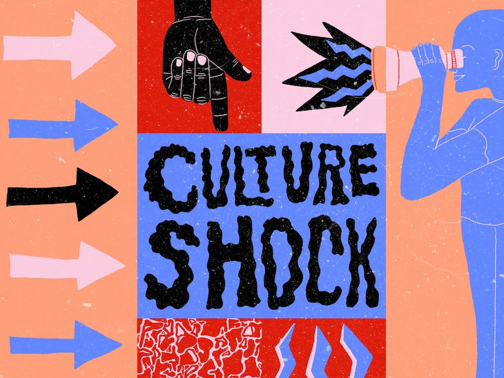 The promotional poster for WIUX's Culture Shock festival appears. Culture Shock will take place virtually Saturday.