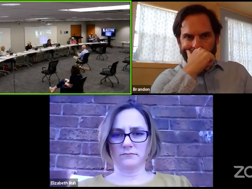 The Monroe County Community School Corporation Board of School Trustees begins its monthly meeting Tuesday over Zoom. The trustees discussed reopening plans as well as other issues.