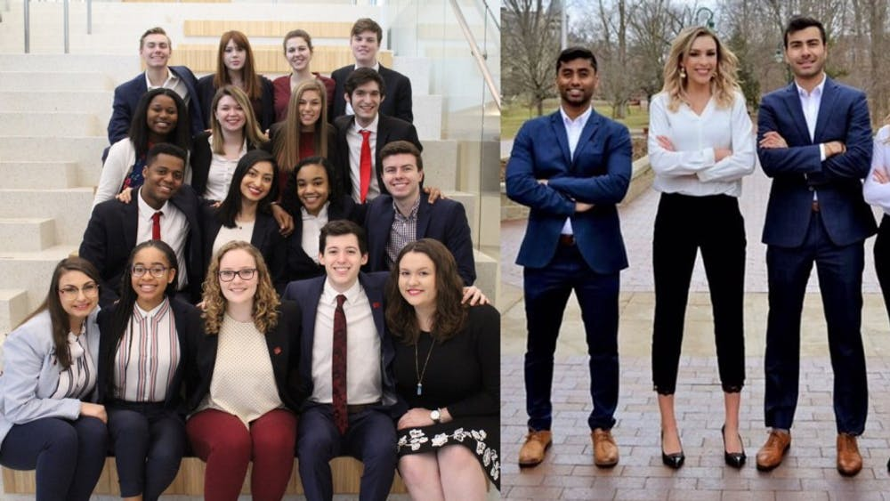 Bridge IU and Vision are the two tickets in the IU Student Government election. Elections closed at 10 p.m. Thursday night, and the results were announced Friday morning.