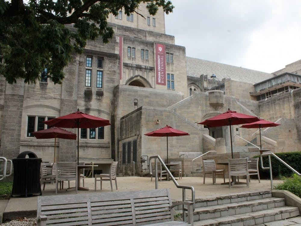 The Indiana Memorial Union is located on East Seventh Street. Free professional headshots are being offered Thursday and Friday at the IMU.