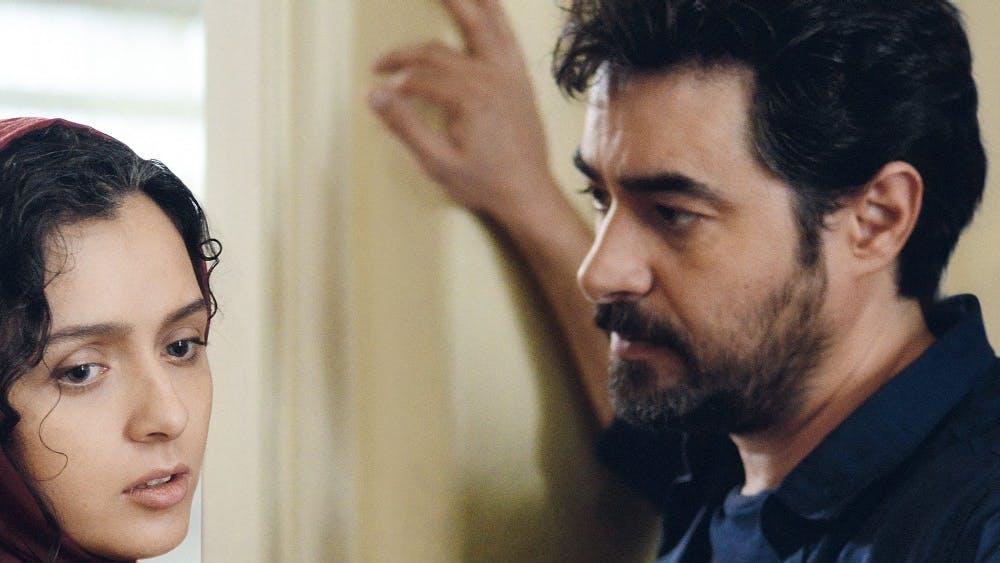"Rana (Taraneh Alidoosti)and Emad (Shahab Hosseini)contemplate their future in ""The Salesman"".Courtesy photo."