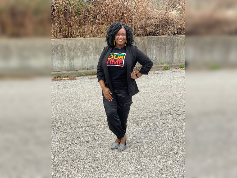 The Guardenfounder and CEO Nichelle Whitney poses for a photo. Bloomington diversity education and consulting company the Guarden trains individuals and employees of companies, organizations and institutions about cultural sensitivity and communication.