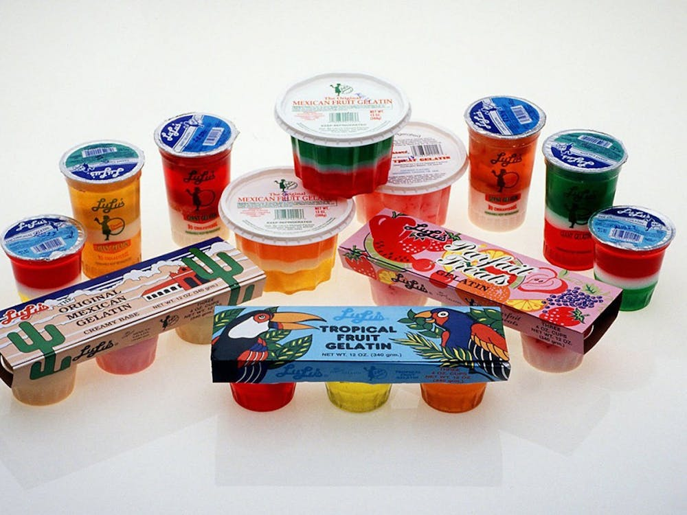 While gelatin was invented in 1845, it became popular in the mid 1900's.