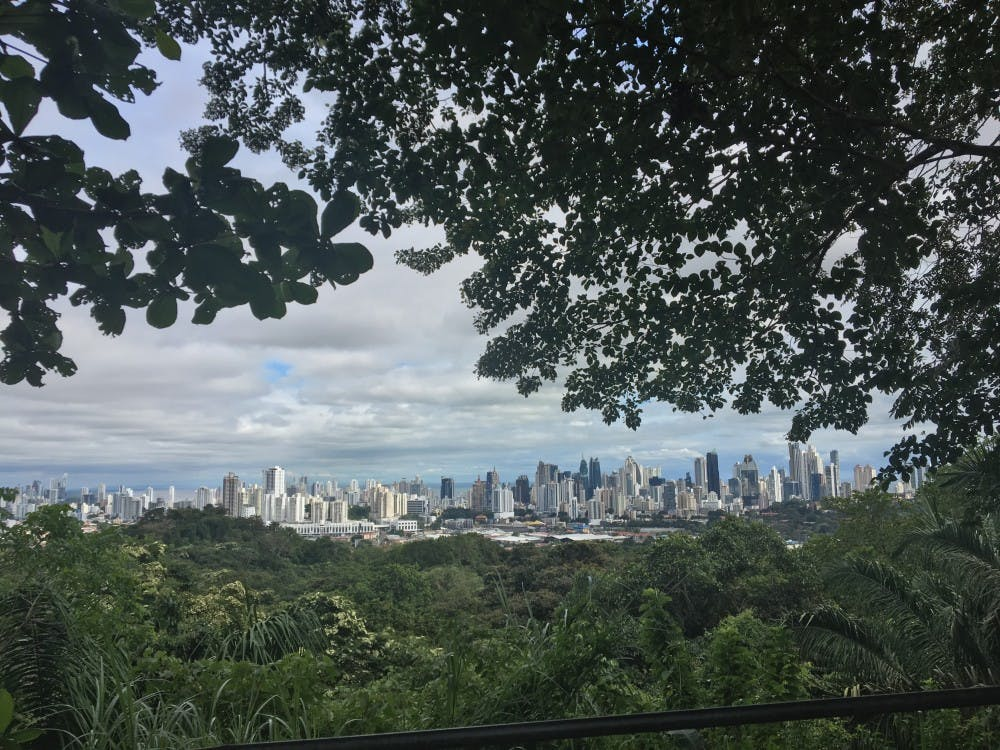 <p>Junior Alyxandria Sundheimer caught a view of Panama City while hiking during her dance service trip. She went on the trip with IU's chapter of Movement Exchange.&nbsp;</p>