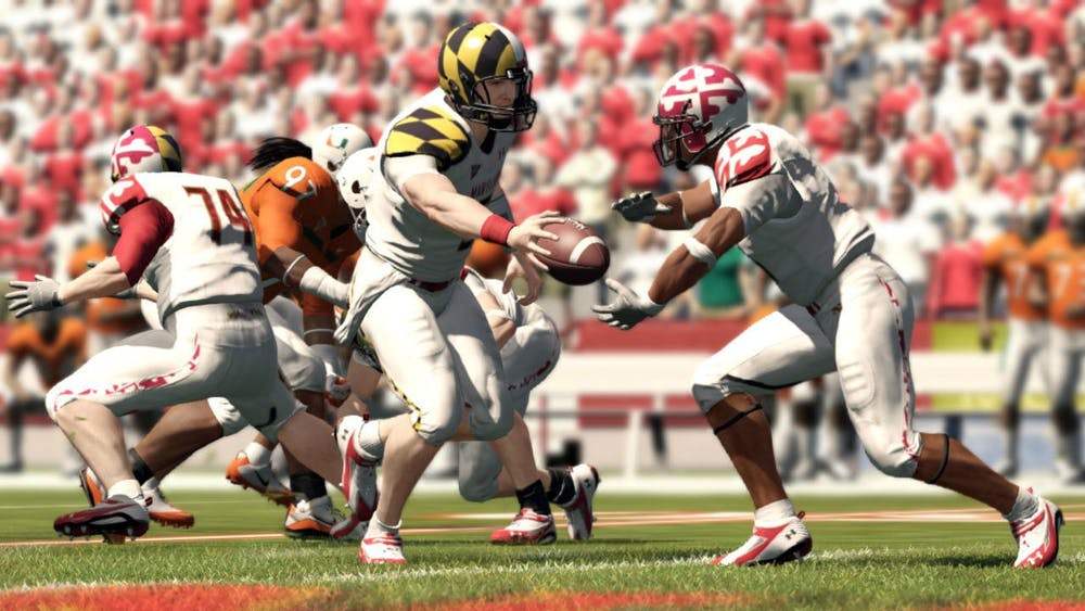 "A still from ""NCAA Football 13"" video game is pictured. EA Sports announced Feb. 2 that its NCAA Football series would return soon after a seven-year hiatus."