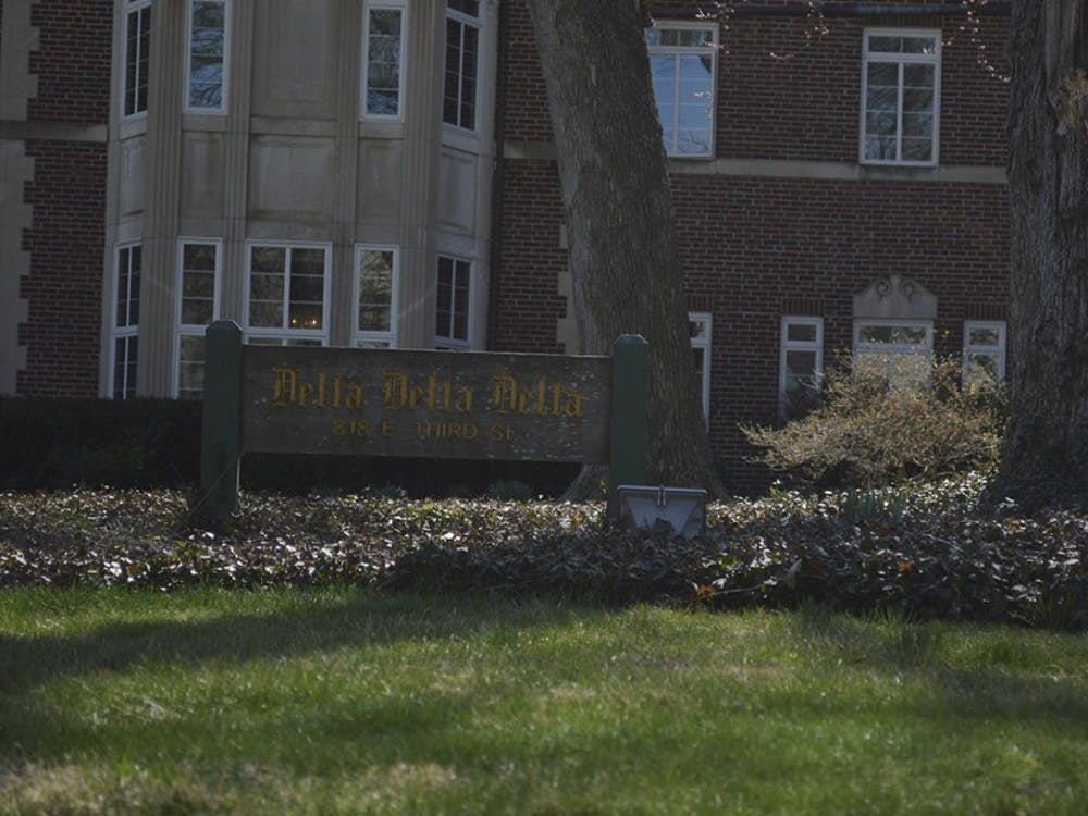 The Delta Delta Delta house sits on Third Street. The IU Delta Omicron chapter of Delta Delta Delta was revoked Saturday after the group's national organization said the IU members' activities clashed with Tri Delt's high standards and purpose.