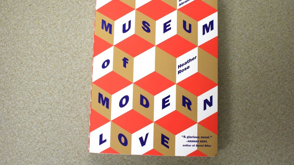 """""""The Museum of Modern Love"""" was written by Heather Rose."""