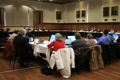 The Bloomington Faculty Council meets Feb. 19 in Presidents Hall of Franklin Hall.
