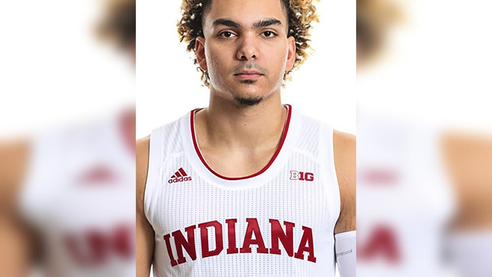Redshirt junior guard Parker Stewart entered the transfer portal Wednesday. Steward did not play during his time at IU.