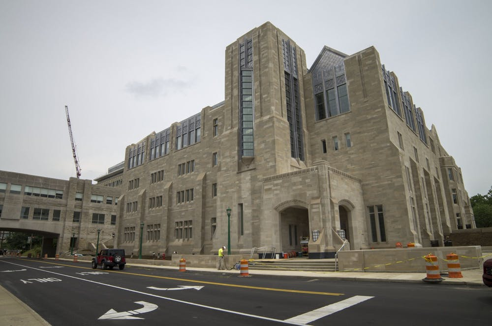 "<p>The Kelley School of Business is located in Hodge Hall at 1275 E. 10th St. Kelley professor Charles Trzcinka recently published tweets that have been criticized for being racist just a few months after fellow Kelley professor Eric Rasmusen was <a href=""https://www.idsnews.com/article/2019/11/iu-professor-tweets-article-about-women-destroying-academia"" target="""">accused of posting sexist and insensitive tweets</a>.</p>"