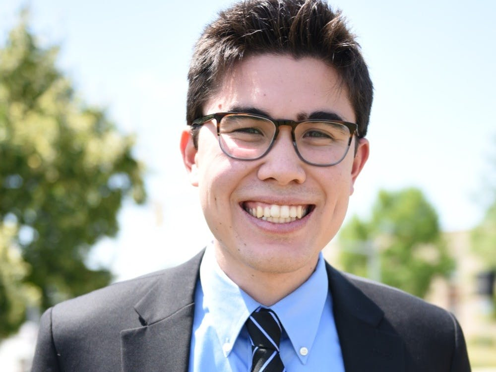 Junior Jacob deCastro will serve as the editor-in-chief of the IDS this fall.