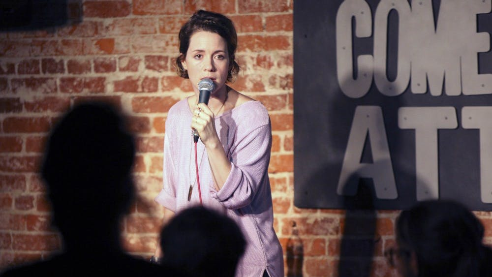 Alice Wetterlund performs at The Comedy Attic on Friday.  Wetterlund headlined at the Bloomington, Ind. comedy venue on June 17 and June 18.