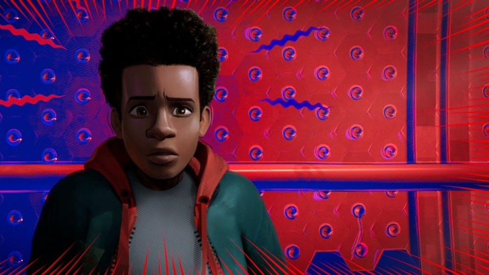 """There will be free screenings of """"Spider-Man: Into the Spider-Verse"""" on March 1-3 at the Indiana Memorial Union's Whittenberger Auditorium."""