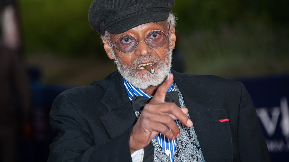 """Melvin Van Peebles arrives at the """"Lawless"""" Premiere during the 38th Deauville American Film Festival on Sept. 5, 2012, in Deauville, France."""