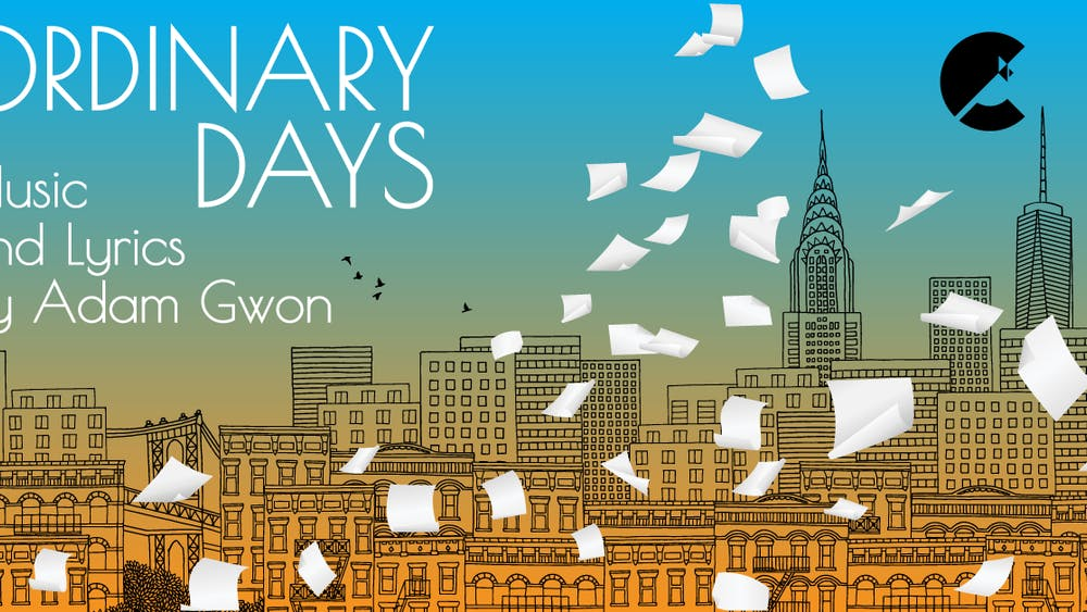 "The cover of ""Ordinary Days"" is pictured. Cardinal Stage will stream the production Feb. 11-21."