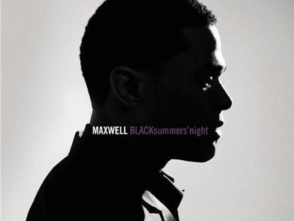 "Singer Maxwell's latest, ""BLACKsummers'night."""