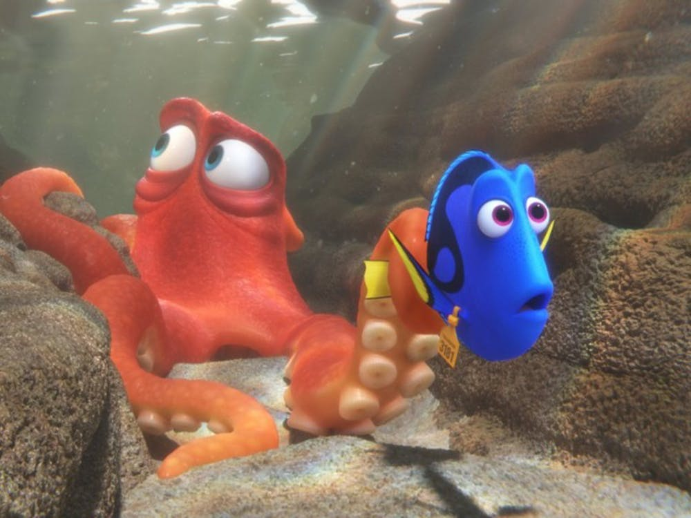 """A scene from """"Finding Dory."""" (Photo courtesy Pixar/TNS)"""