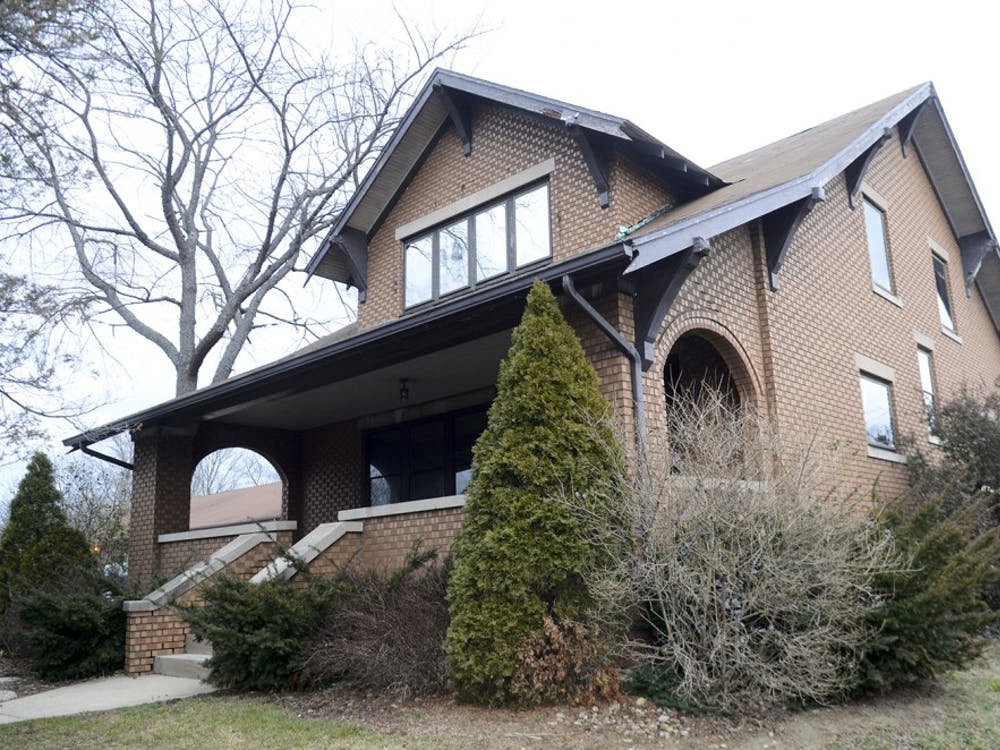 This house downtown, constructed in 1928 and owned by Chris Bomba, may be moved to a new neighbor. Some community members voiced opposition to the move at a City Council meeting Wednesday on the grounds of its age and historic nature.