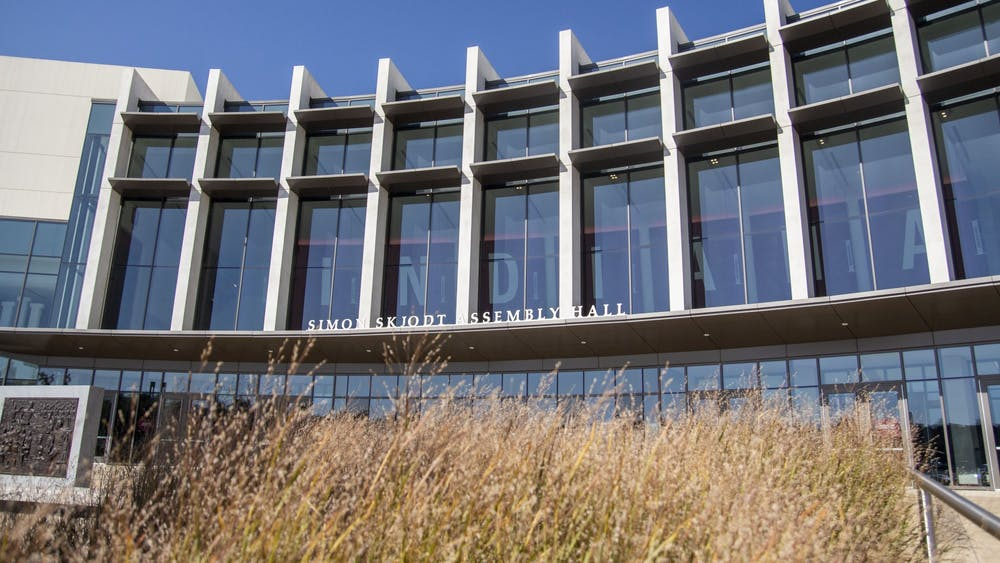 Simon Skjodt Assembly Hall is located at 1001 E. 17th St. IU announced it will allow 500 fans into Assembly Hall during the NCAA Men's Division I Basketball Tournament in a press release Friday.