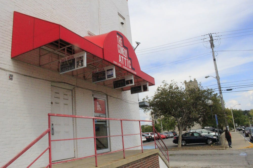 <p>The Comedy Attic is located at 123 S. Walnut St. The comedy club will operate at a 50% capacity and will follow strict guidelines to help decrease the spread of COVID-19.</p>