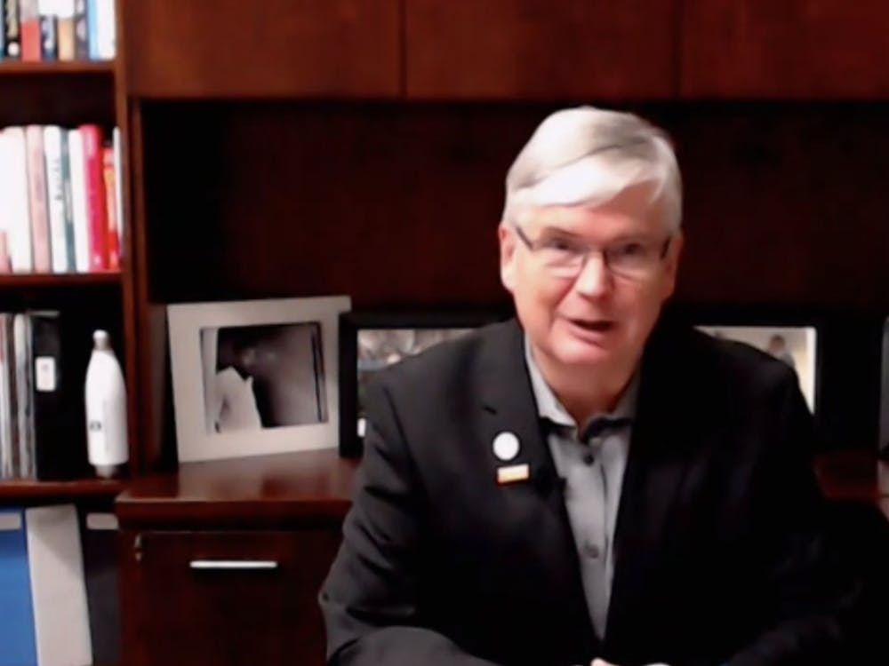 Mayor John Hamilton gives his State of the City address Thursday over Zoom. In his sixth State of the City address, Mayor Hamilton emphasized how the city can move forward with the economic and social effects of the COVID-19 pandemic.