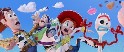 """Toy Story 4"" was released July 20 and stars Tom Hanks, Tim Allen and Annie Potts. The film stars a new toy called ""Forky."""