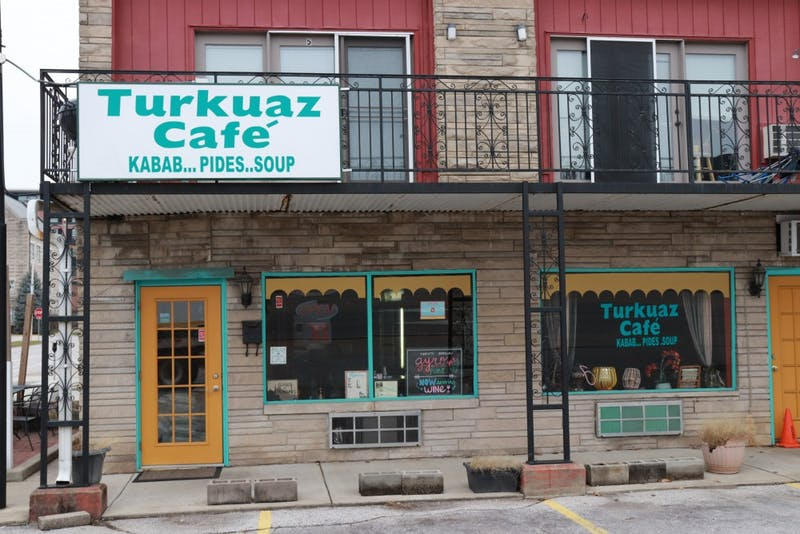 Turkuaz Cafe is located at 301 E Third St.