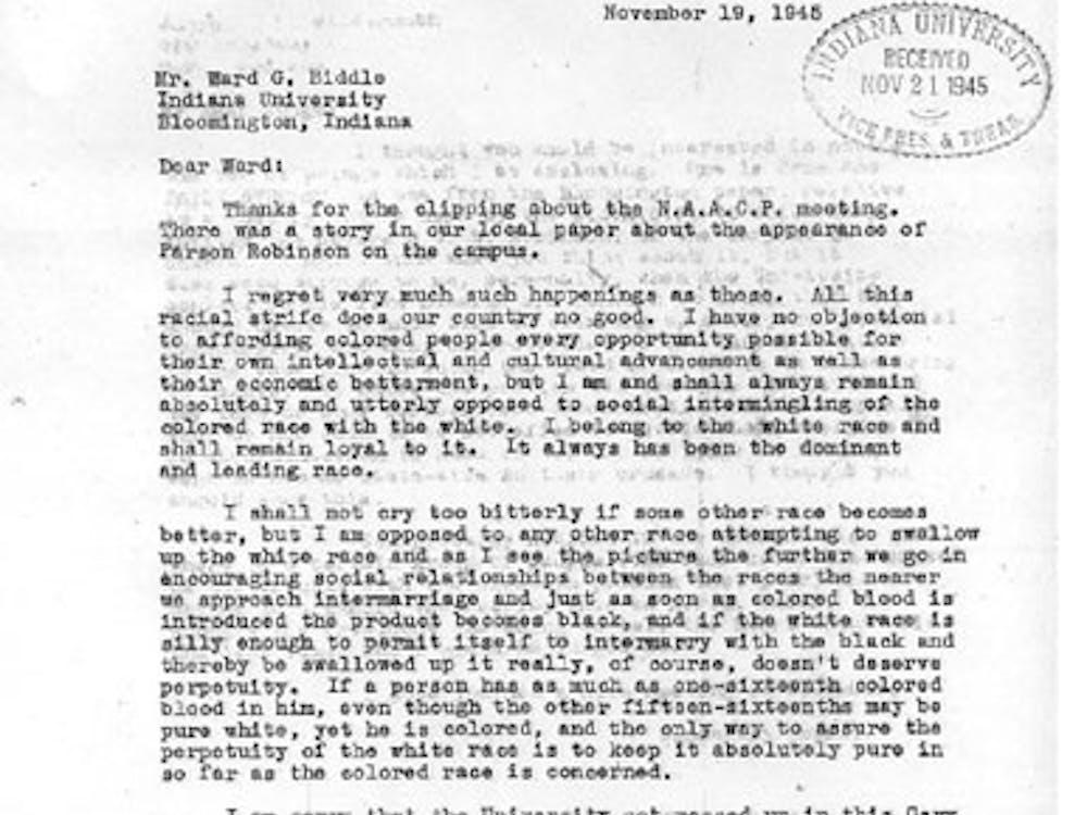 Ward letter