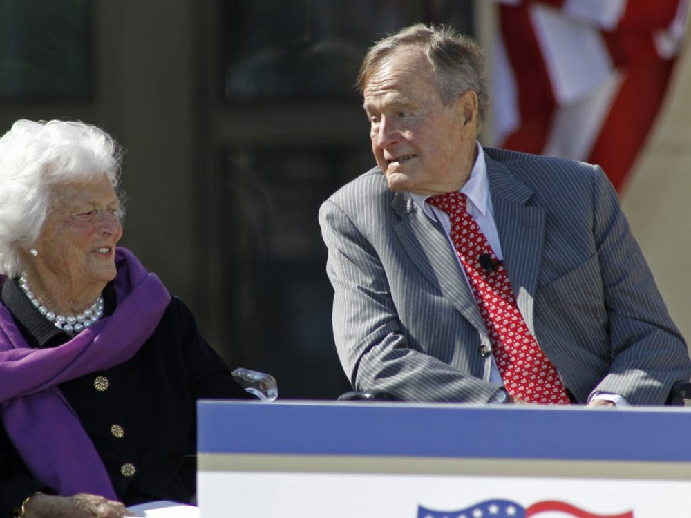 Barbara Bush, a former first lady of the United States and mother to another president, died Tuesday, April 17, 2018.