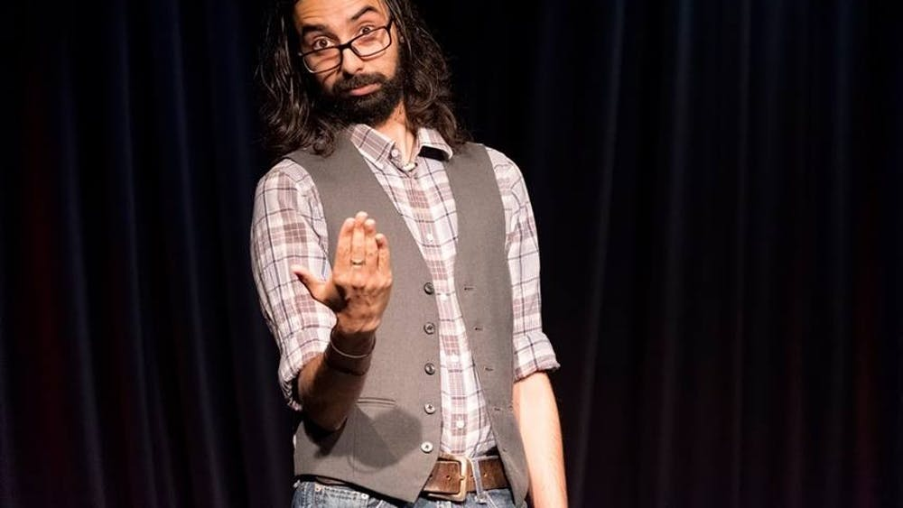 Krish Mohan will perform at 8 p.m. Feb. 8 at the Dimensions Gallery. Tickets for the show are $5 online at ramannoodlescomedy.com and $10 at the door.