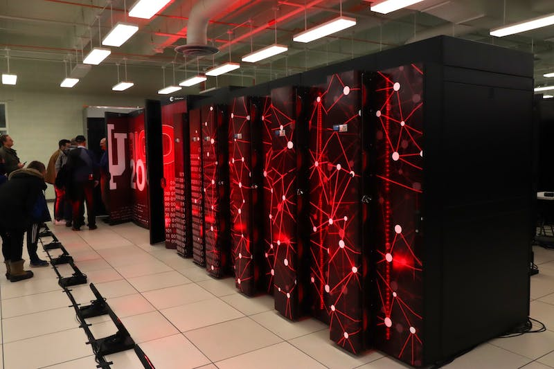Big Red 200 supercomputer sits Jan. 20 in the IU Data Center. Big Red 200 is the fastest supercomputer in Indiana.Correction: A previous version of this caption misstated the location of the supercomputer. The IDS regrets this error.