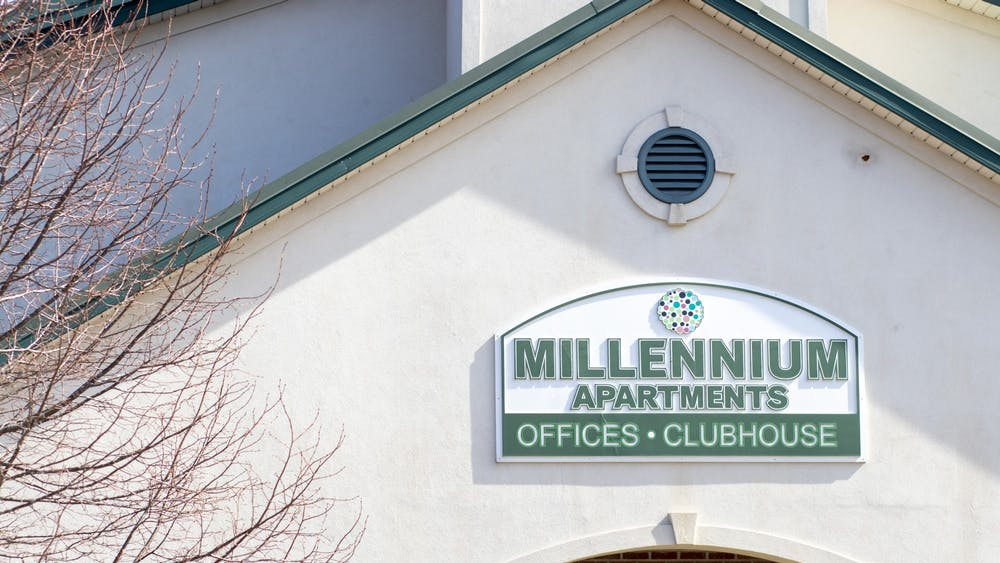 "The Millenium Apartments complex is located at 1200 S. Rolling Ridge Way. A Millenium resident described an encounter with a staff member as ""xenophobic, racial and disrespectful."""