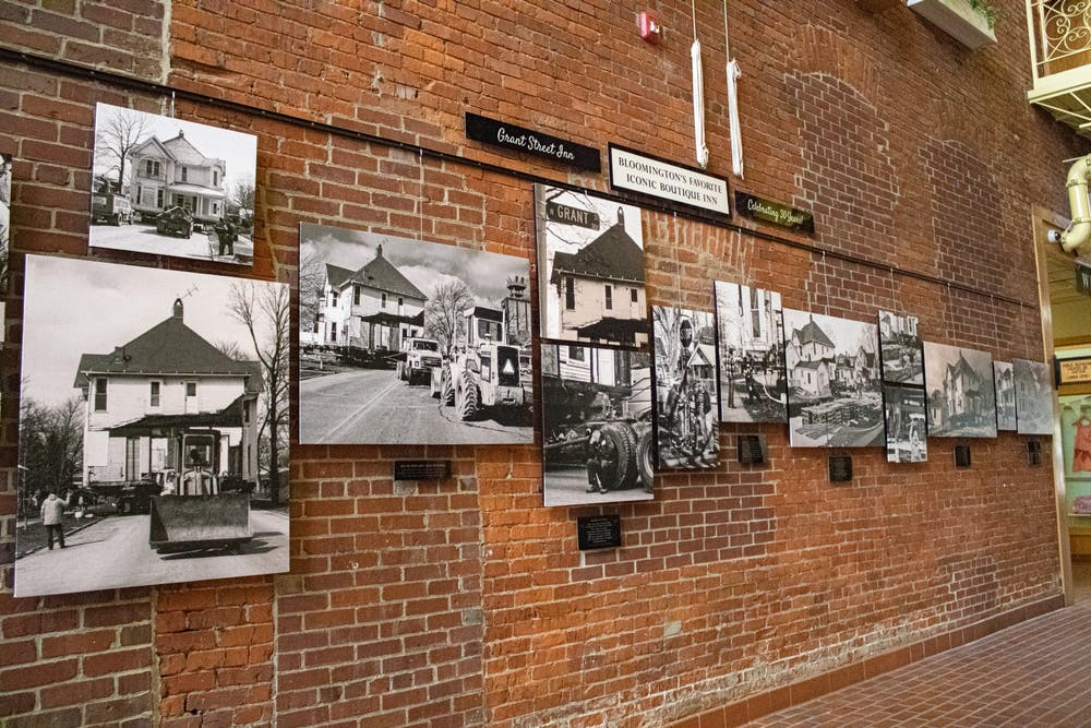<p>An exhibit honoring the 30th anniversary of the Grant Street Inn located inside the Fountain Square Mall. The exhibit is open until August 2.</p>