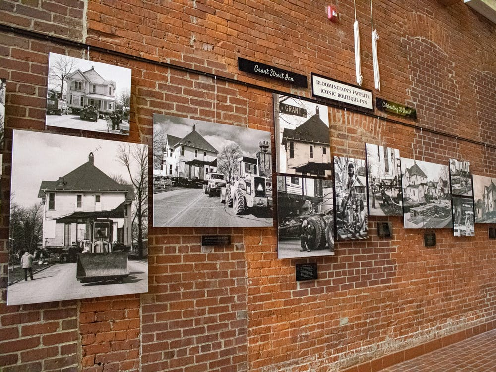 An exhibit honoring the 30th anniversary of the Grant Street Inn located inside the Fountain Square Mall. The exhibit is open until August 2.