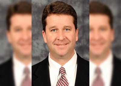"""Director of Intercollegiate Athletics Scott Dolson is pictured. Dolson said in a release that the university is receiving guidance from """"the best doctors"""" as IU athletics enter phase two of its restart plan."""