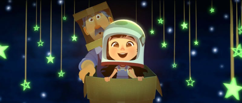 """The Oscar Shorts Film Festival will continue this weekend, Feb. 22-24, at various locations around Bloomington. """"One Small Step,"""" a story of a young Chinese girl who wants to become an astronaut, is a nominee for the animated short category."""