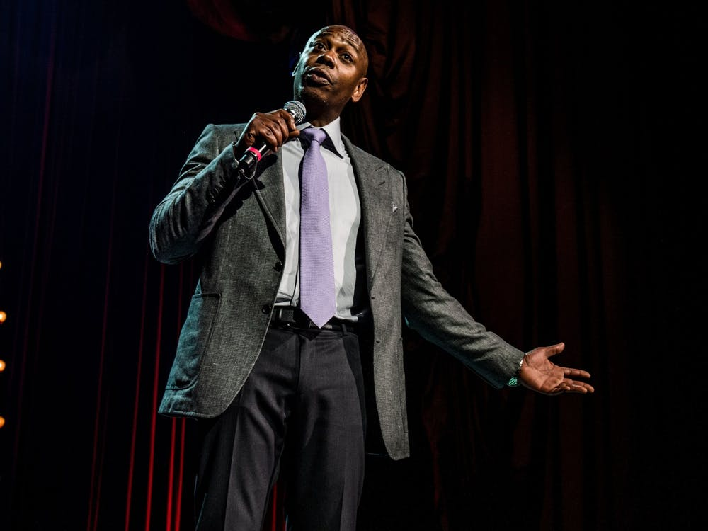 Dave Chappelle performs Aug. 24, 2017,  at the Radio City Music Hall in New York City.