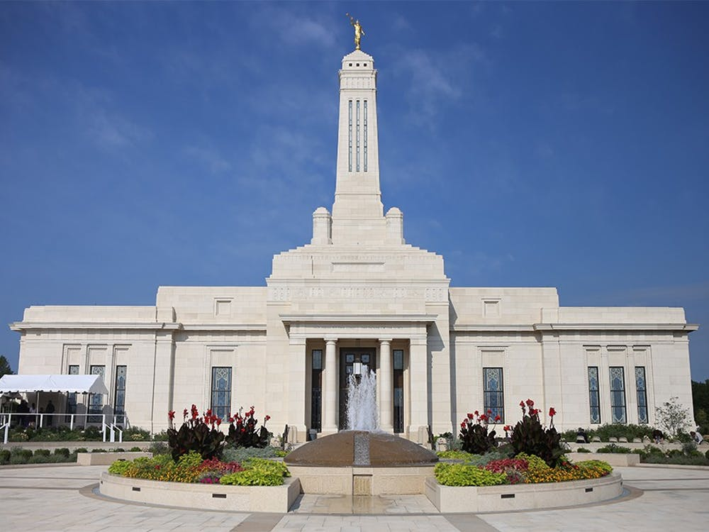 The LDS temple in Carmel, dedicated Sunday, is the first Mormon temple in Indiana. According to the church, this temple will serve 25,000 churchgoers. Temples are used for ceremonies such as baptisms and marriages - before the new Indianapolis-area temple, members of the Church had to travel to cities such as Louisville, Kentucky, or Columbus, Ohio.