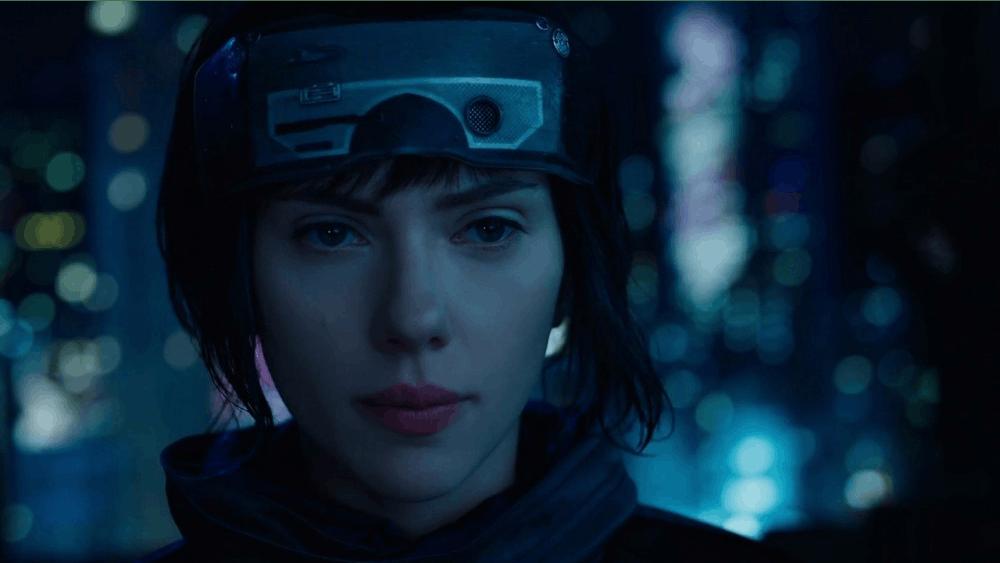 "Scarlett Johansson stars as the Major in ""Ghost in the Shell."""