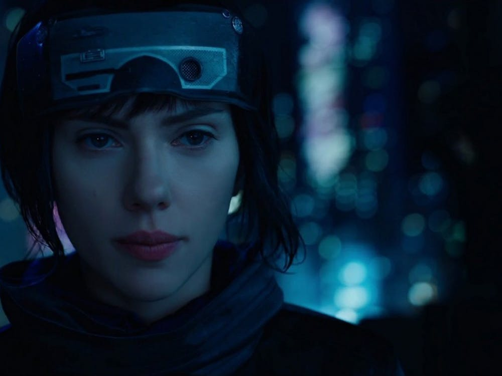 "Scarlett Johansson stars as the Major in ""Ghost in the Shell."""