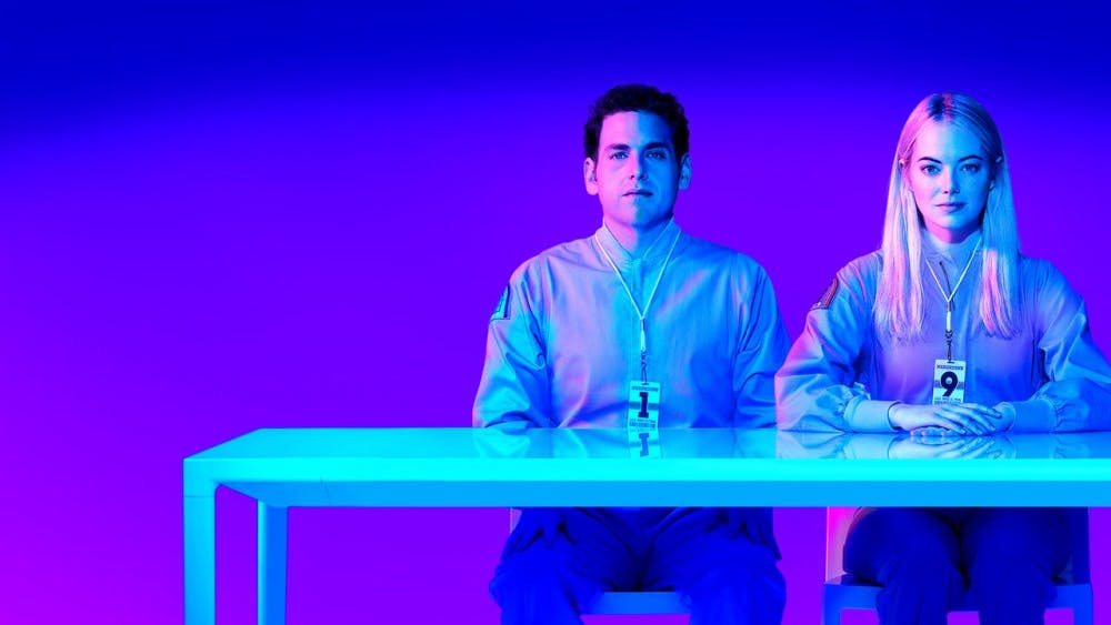 """Maniac"" is an American drama miniseries on Netflix. It was released Sept. 21, 2018."