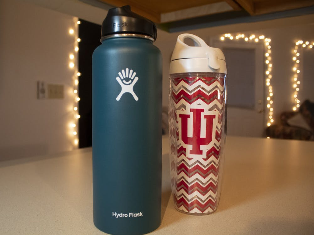 Reusable water bottles: Keep your favorite drinks hot or cold while saving the environment one plastic bottle at a time.