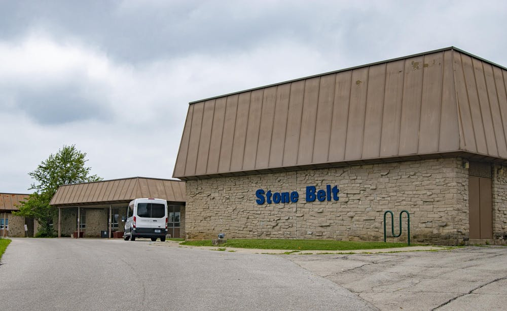 <p>One of Bloomington's two Stone Belt Arc building locations is pictured. The nonprofit Stone Belt organization supports people with disabilities.</p>