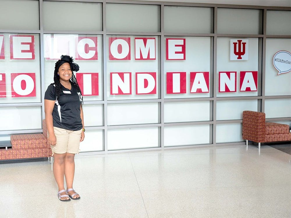 Alexis Burr, junior studies excercise sicence at Indiana University, is one of the student leaders of the incoming new student orientation.