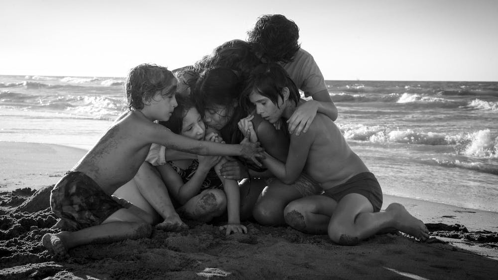 """Roma"" premiered at the Venice Film Festival in 2018."